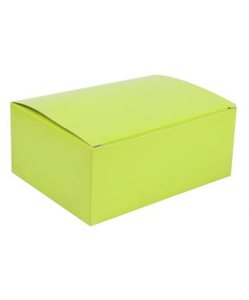 BROWNIE BOX - GREEN - PACK OF 10