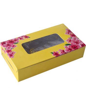 BROWNIE BOX - YELLOW - PACK OF 10