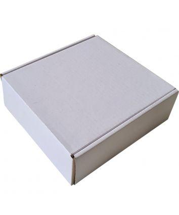 GIFT HAMPER BOX - CORRUGATED - WHITE - PACK OF 5