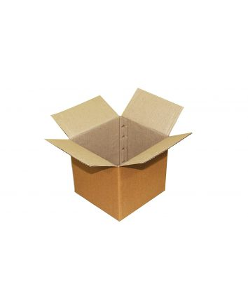 CORRUGATED BOX FOR PACKAGING - 6X6X6 INCHES - PACK OF 50